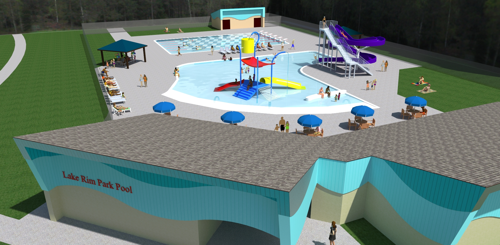 New Construction & Upgrades | Parks and Recreation